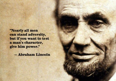Abraham Lincoln and Power