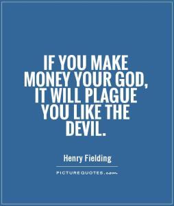 Money as a god